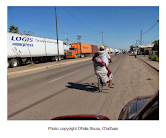 Censored News Exclusive! Ofelia Rivas Photos: Yaqui Highway Blockade