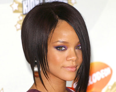 rihanna 2011 haircut. Choppy hairstyle in 2011