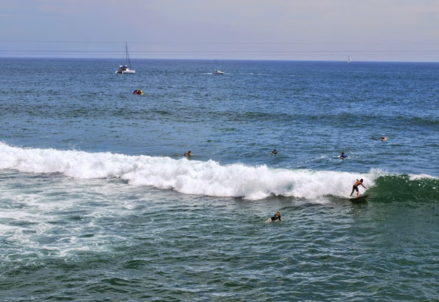 The Vans US Open of Surfing in Huntington Beach, California | Em Then Now When