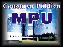 Concurso MPU 2013 inscricoes
