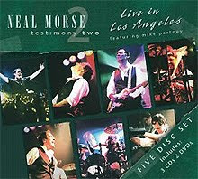 Neal Morse - Testimony 2: Live in Los Angeles – CD y DVD