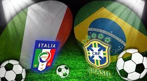 Prediksi Skor Italia vs Brazil 23 Juni 2013