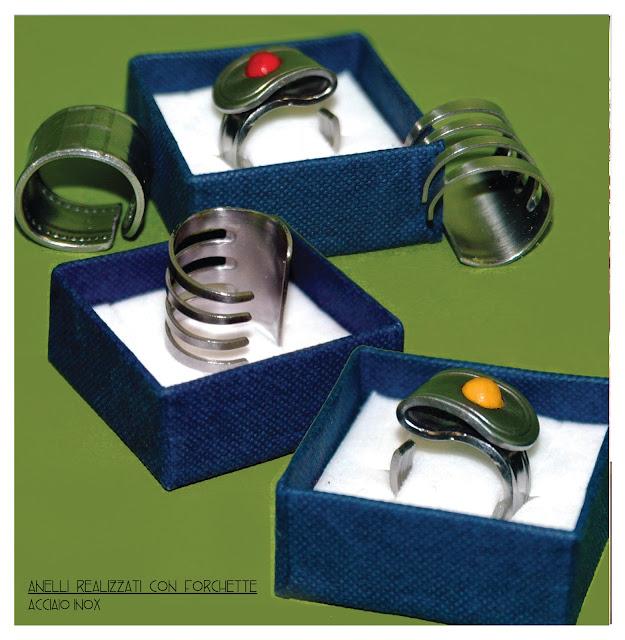 anelli realizzati da posaterie