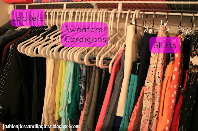 Ways To Organize Your Clothes In Your Closet Home