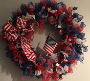 PATRIOTIC WREATH  MAY 19TH OR MAY 20TH