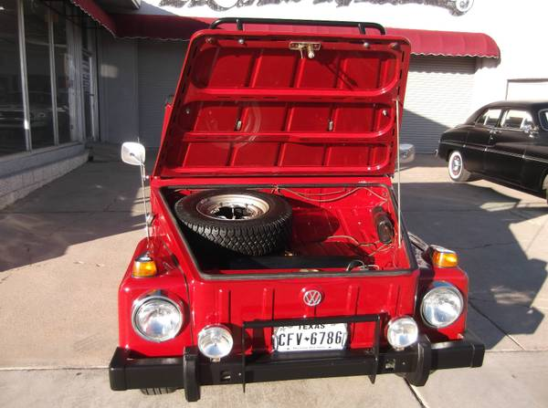 Super Clean, 1974 VW Thing for Sale - Buy Classic Volks
