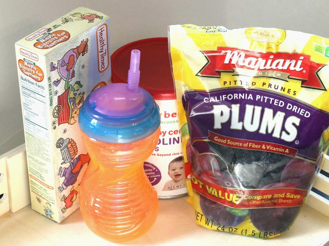 emergency food storage for baby
