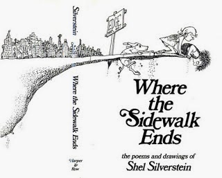 How Silverstein chose the band name - Shel Silverstein - where the sidewalk ends