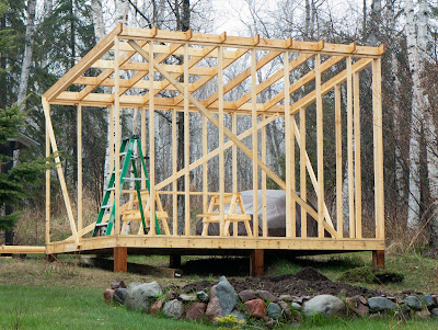 Shed construction books | Woodworking