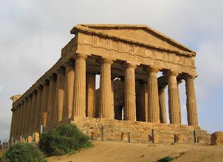 Concordia Tempel in Agrigent