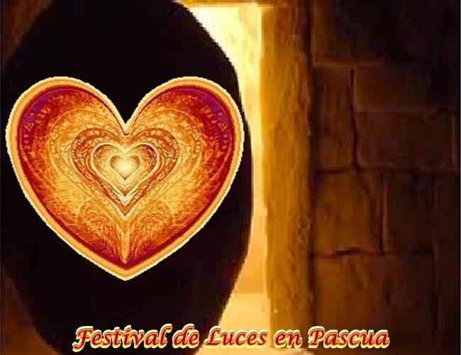 El Amado Arcángel Miguel hoy nos trae un mensaje para el próximo Festival de Luces en Pascua.