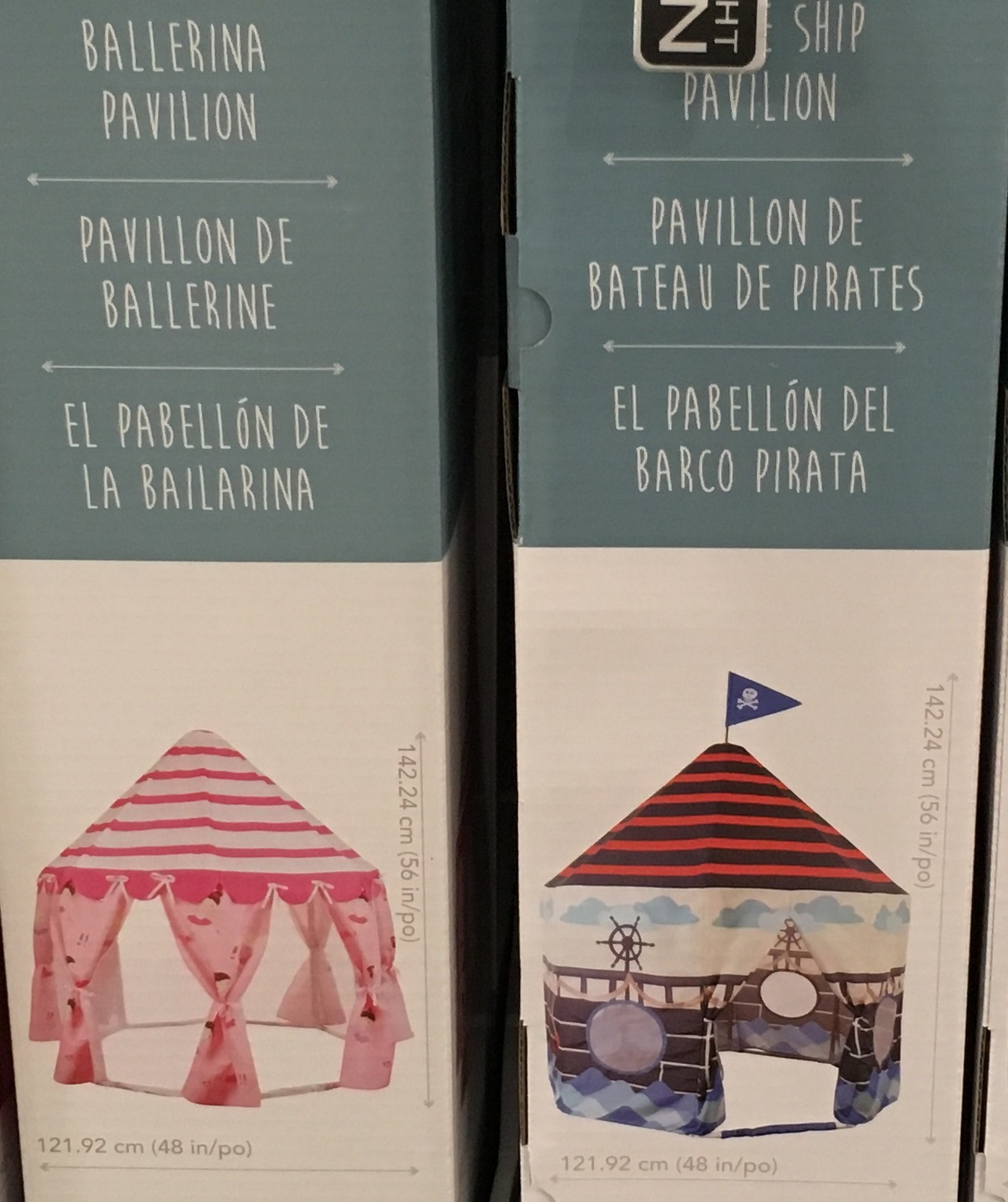 Pacific Play Tents u2013 Pirate Ship Pavilion or Ballerina Pavilion & Pacific Play Tents | Costco Weekender