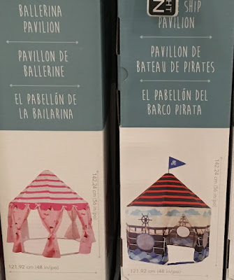 Pacific Play Tents – Pirate Ship Pavilion or Ballerina Pavilion