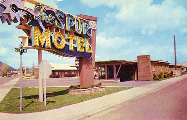 Spur Motel 1950s