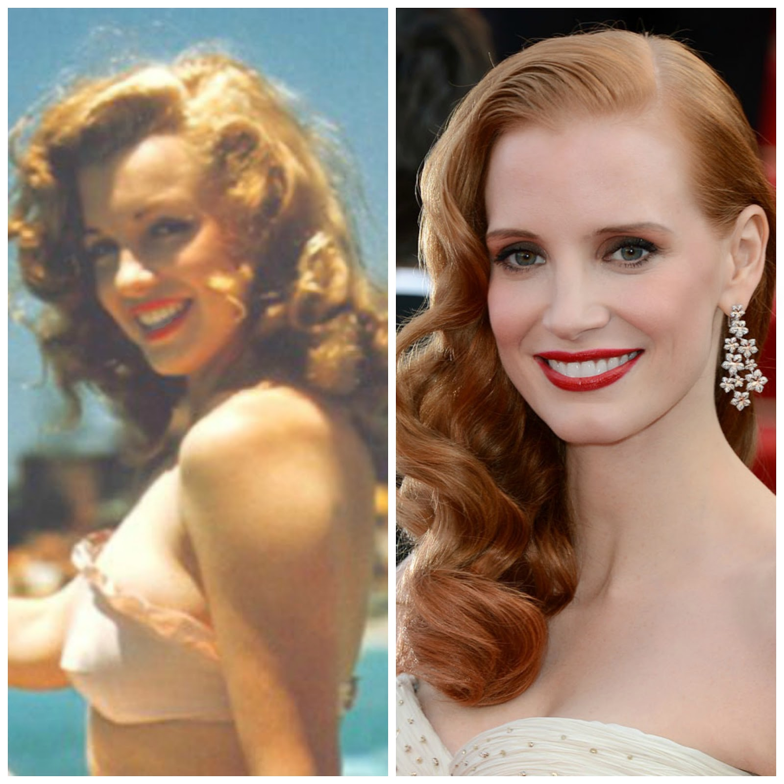 Natural red heads - Jessica Chastain to Play Marilyn Monroe in Blonde