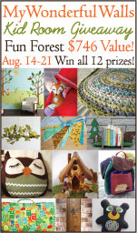 fun+forest giveaway button+%282%29 My Wonderful Walls Twitter Party 8/17
