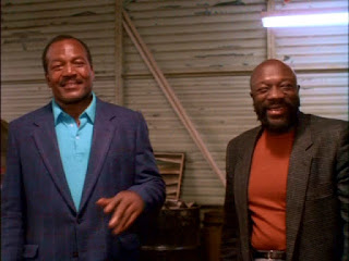 Jim Brown and Isaac Hayes