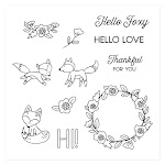 CTMH's June Stamp of the Month - Hello Foxy (S1706)
