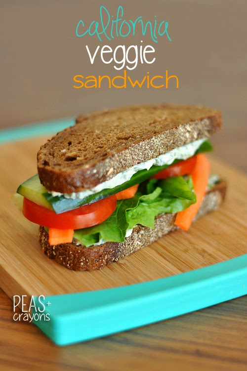 The Fresh Market's California Veggie Sandwich Copycat