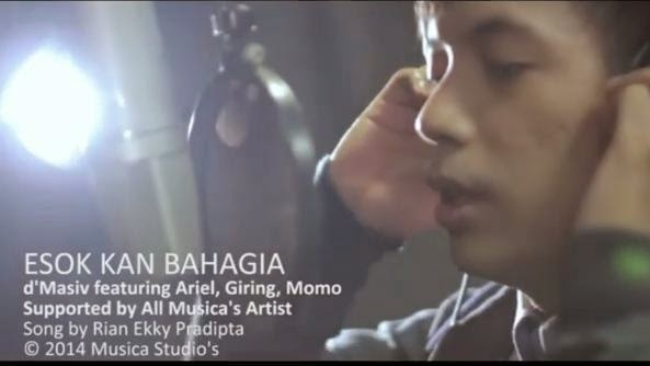 lirik lagu D'Masiv featuring Ariel_ Giring_ Momo - Esok Kan Bahagia