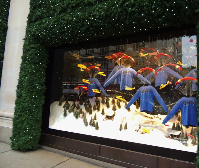 Kenzo jumpers parachuted into Oxford Street