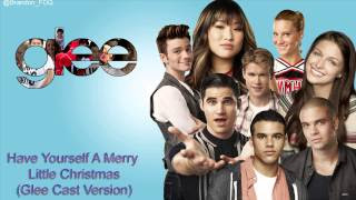 glee cast have yourself a merry little christmas cover