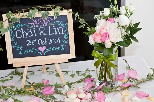 Decoraci n para entrada de boda - Decoracion de entradas ...