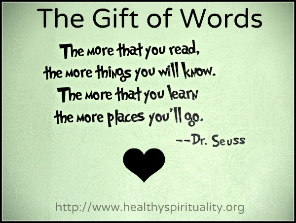 The Gift Of Words Lectio Divina