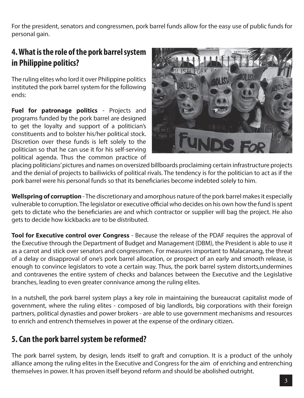 """pork barrel philippines Allied congressional initiative allocations collectively labeled as """"pork barrel"""" in  the  the use of pork barrel funds in the philippines dates back to the 1930s."""