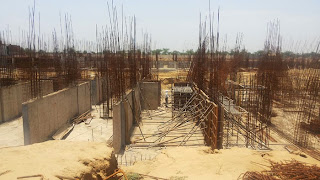Golf Country, Yamuna Expressway :: Construction Status on July 2014 :-Tower C-2 2 BHK 1000 sq ft