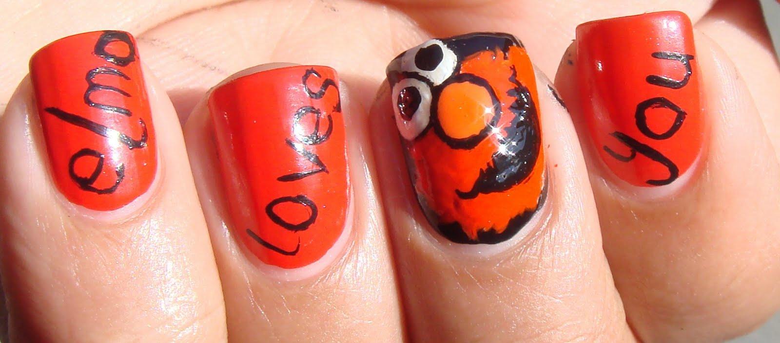 Nail Loopy Who Loves Elmo