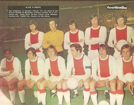 Finale coupe des clubs champions 1971 ajax vs - Football coupe d europe des clubs champions ...