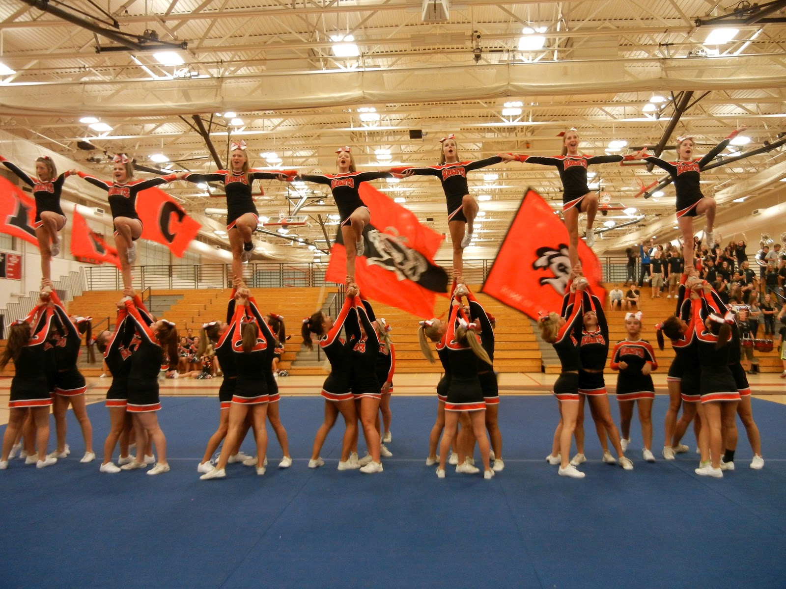 Lincoln Way Central Cheerleading