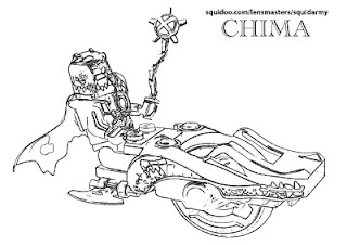 lego chima coloring pages Cragger on Speedorz