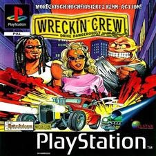 Torrent Super Compactado Wreckin Crew Drive Dangerously PS1