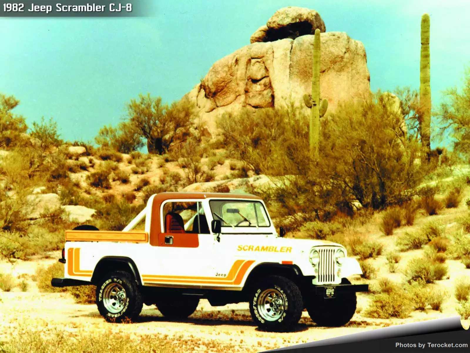 Hình ảnh xe ô tô Jeep Scrambler CJ-8 1982 & nội ngoại thất