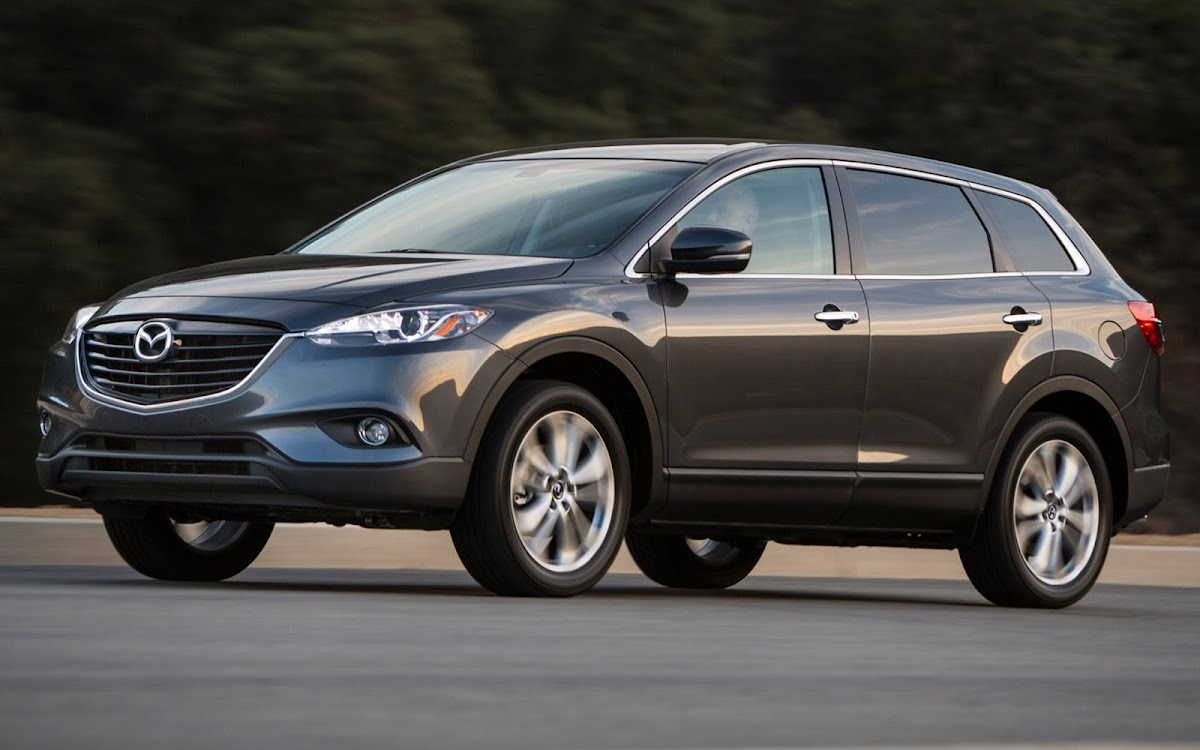2013 Mazda CX 9 Widescreen HD Wallpaper 4