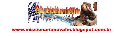 Rádio Missionaria Nova Fm 90,7 Mhz