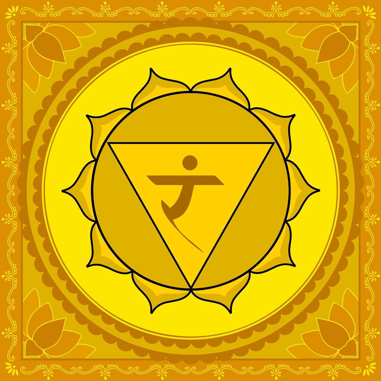 Affirmations à réciter (matin et soir) pour l'équilibrage de l'énergie de vos chakras MANIPURA+CHAKRA+IMAGE