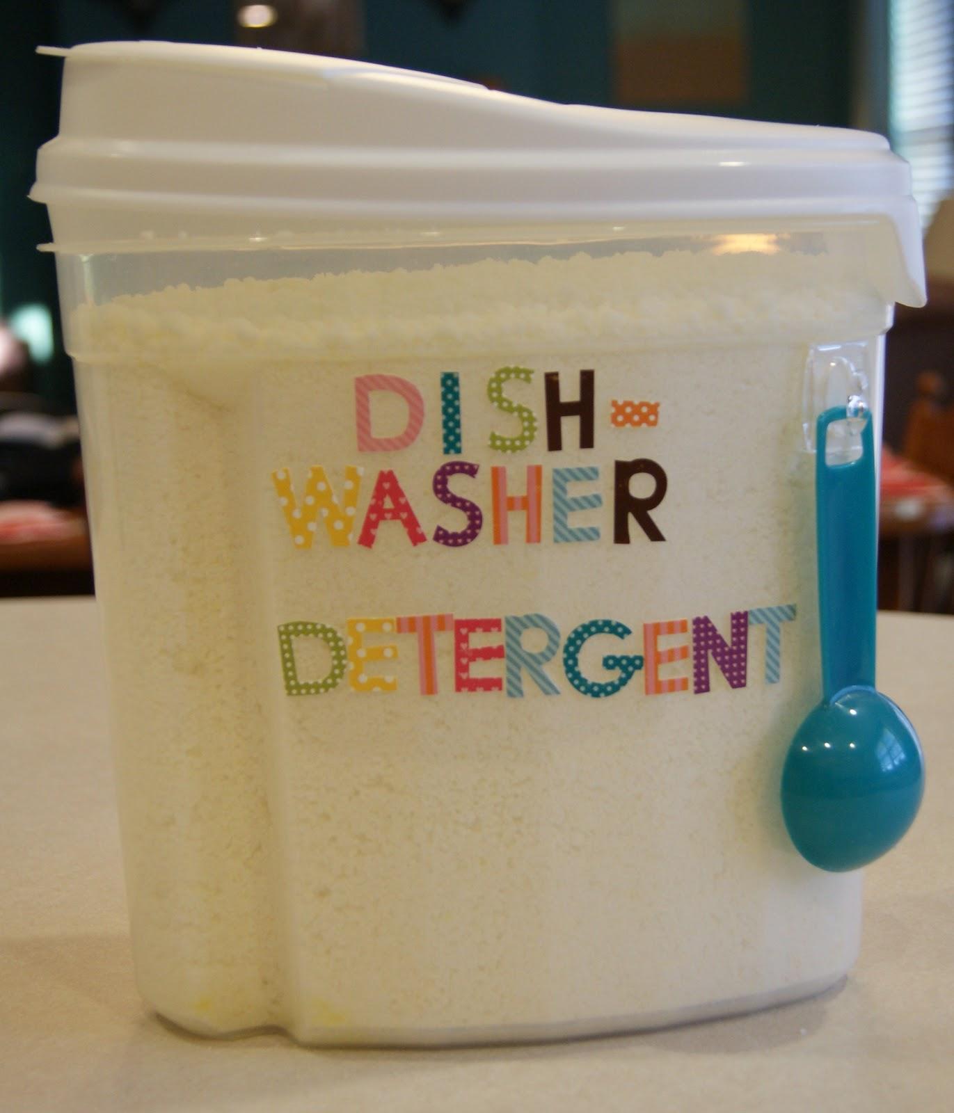 DIY dishwasher detergent. Source