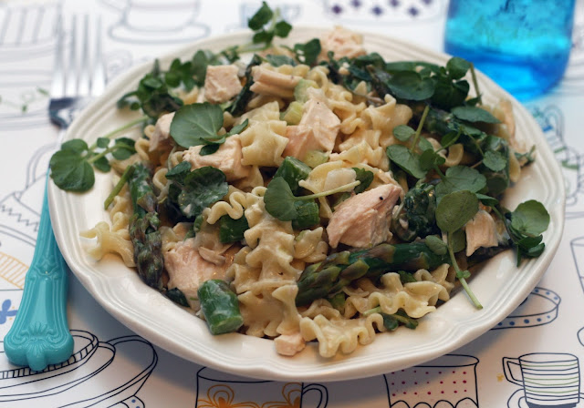 ... Rachel Rappaport: Spring Chicken Pasta Salad with Lemon-Thyme Dressing