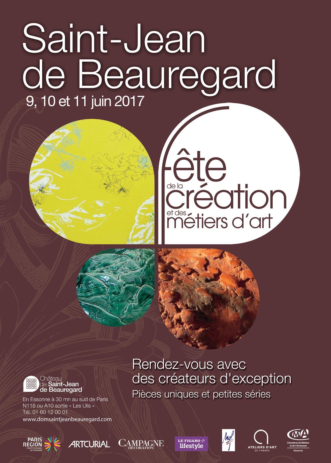LES ARTISANS D'ART vous attendent au château de St Jean de Beauregard