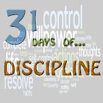 31 Days of Discipline