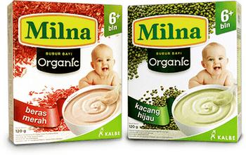 Milna Bubur Bayi Organik, Bubur Bayi Organik Pertama di Indonesia