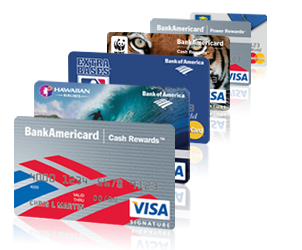 Bank of america credit card Online