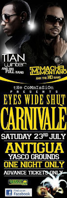 The Winterman (Tian Winter) & Machel Montano HD on one stage....July 23rd...Yasco!!!