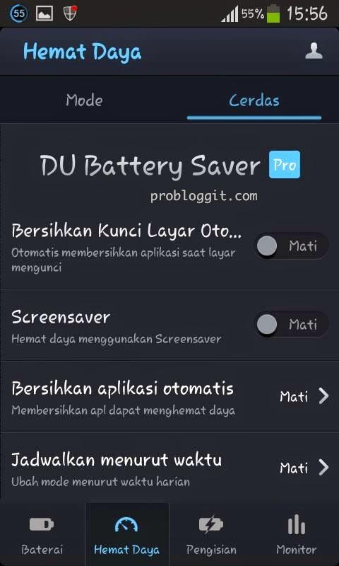 Penghemat baterai DU Battery Saver Pro