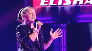 Elisha canta The Power Of Love. La Voz Kids