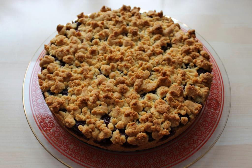 Kirsch-Streusel-Kuchen, kostenloses Rezept von wollzeitmamaKirsch-Streusel-Kuchen, kostenloses Rezept von wollzeitmama