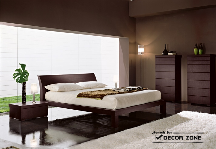 Modern bedroom furniture sets 20 ideas and designs for Dark brown bedroom designs